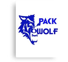 Pack Wolf  Canvas Print