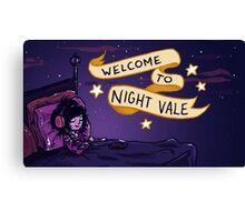 Night Vale Canvas Print