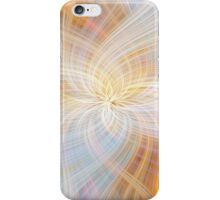 Light Blue Beige Colored Abstract. Concept Harmony iPhone Case/Skin