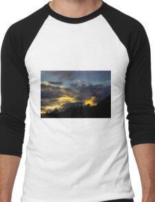 Sunrise Silhouette Men's Baseball ¾ T-Shirt