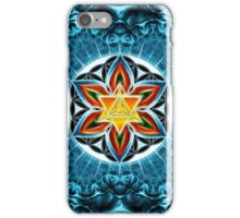 Merkaba, Flower Of Life, Metatrons Cube, Sacred Geometry iPhone Case/Skin