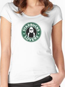 Coffee Lovers Women's Fitted Scoop T-Shirt