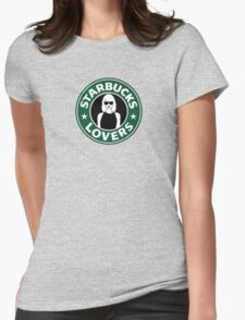 Coffee Lovers Womens Fitted T-Shirt