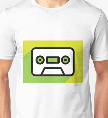 Audio tape icon Unisex T-Shirt