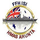 HMAS Arunta FFH 151 by Mil Merchant