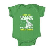 Save us Hillary! One Piece - Short Sleeve