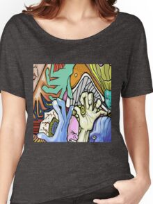Abstract Collaboration with JKArts Women's Relaxed Fit T-Shirt