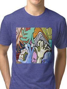 Abstract Collaboration with JKArts Tri-blend T-Shirt