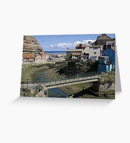 Staithes. Greeting Card