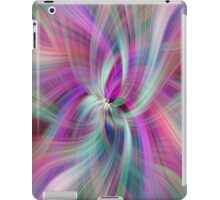 Rainbow Colored Abstract 1. Concept Divine Virtues iPad Case/Skin