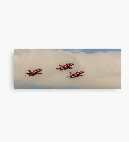 RAF Red Arrows Canvas Print