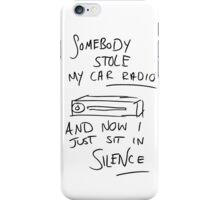 Tyler's Car Radio iPhone Case/Skin