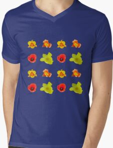 Tulipes sur fond blanc Mens V-Neck T-Shirt