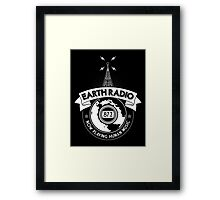 Earth Radio Framed Print