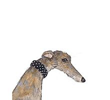 GREYHOUND g604 by Hares & Critters