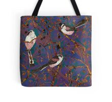 Lovely Little Long-tailed Tits Tote Bag