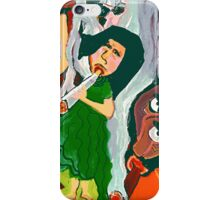 The Woman Smoking A Cigarette iPhone Case/Skin