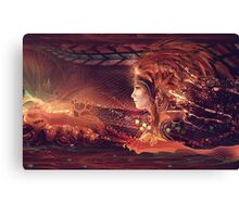 Shadow of a Thousand Lives Canvas Print
