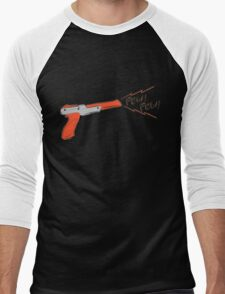 Cute Nes gun Men's Baseball ¾ T-Shirt