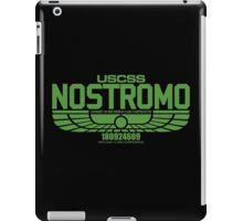 NOSTROMO ALIEN MOVIE STARSHIP (GREEN) iPad Case/Skin