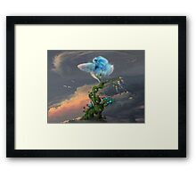 Back to the hometree Framed Print