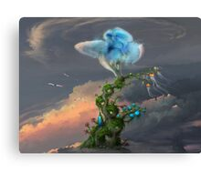 Back to the hometree Canvas Print