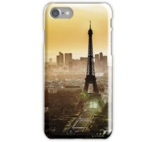 Eiffel Tower Sunset iPhone Case/Skin