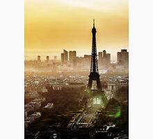 Eiffel Tower Sunset Unisex T-Shirt