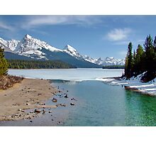 Maligne Lake, Canada (please view large) Photographic Print