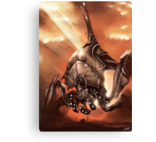 Reaper Destroyer Canvas Print