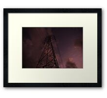Electricity of the world Framed Print