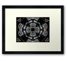 Ƹ̴Ӂ̴Ʒ DESIGN WITH A TOUCH OF BUTTERFLIES Ƹ̴Ӂ̴Ʒ Framed Print