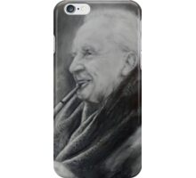 JRR Tolkien with Pipe iPhone Case/Skin