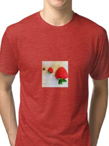 Strawberry, Strawberry, Strawberry Tri-blend T-Shirt