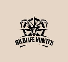 Wildlife Hunter Black Unisex T-Shirt