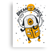 Dream in space Canvas Print