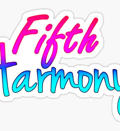 Fifth Harmony Sticker