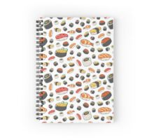 Sushi Party! Spiral Notebook