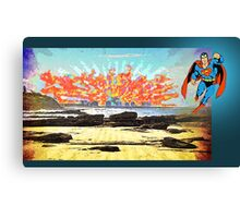 Can Superman Save the World? Canvas Print