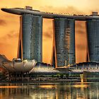 Sunrise At Marina Bay by base501