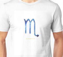 Scorpio Zodiac Symbol Watercolour Illustration (Star Sign) Unisex T-Shirt