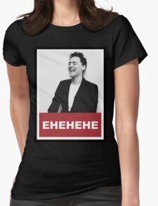 Tom Hiddleston - EHEHE Womens Fitted T-Shirt