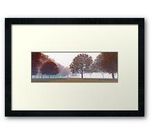 3D Landscape : Old Land - Orange Hills Framed Print