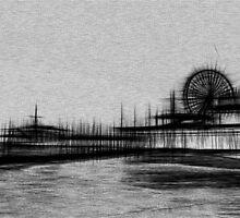 White Noise Santa Monica Pier by stine1