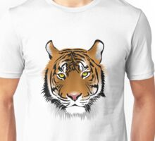 Very, realistic, tiger face Unisex T-Shirt