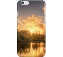 Sunset at Appletree Cottage, Adelaide Hills iPhone Case/Skin