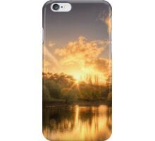 Sunset at Appletree Cottage, Adelaide Hills iPhone Case/Skin