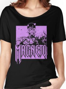 Magneto - Purple Women's Relaxed Fit T-Shirt