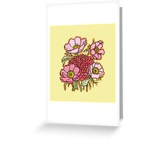 Floral #1 Greeting Card