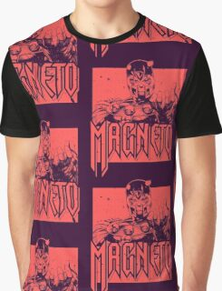 Magneto - Red Graphic T-Shirt
